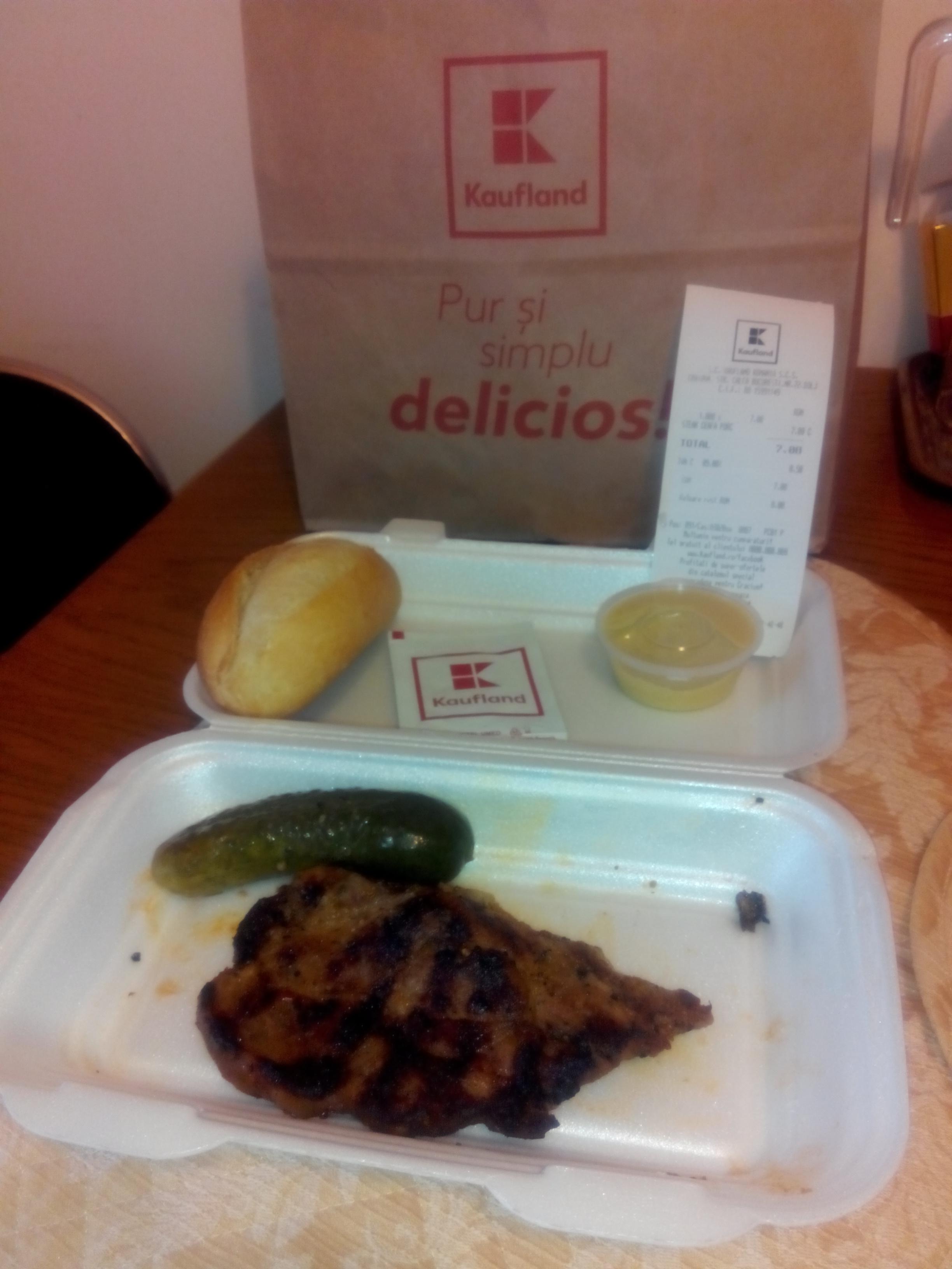 Fast food Craiova minuturi Meniu Ceafa Porc