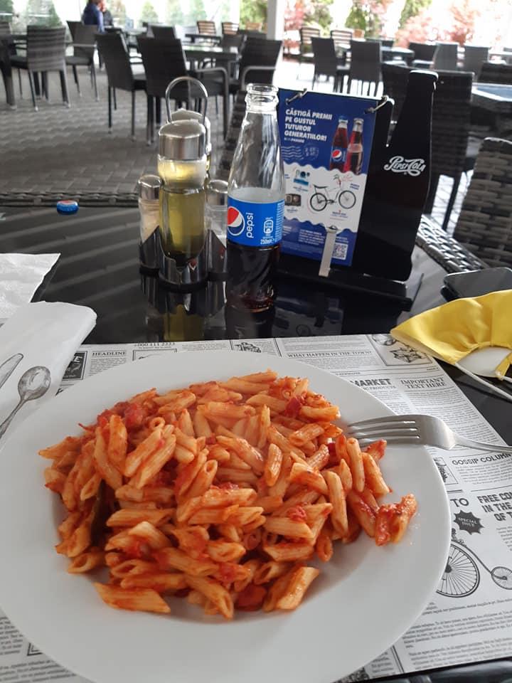 Meniul zilei Craiova cu paste Restaurant Perinita