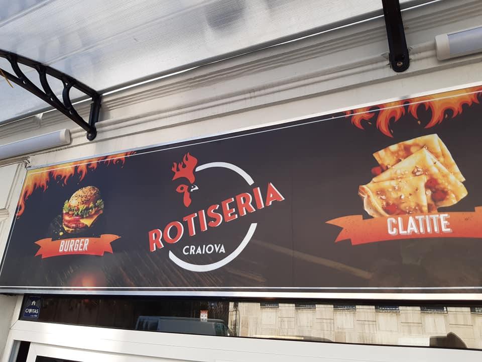 Rotiserie stradala mancare fast food Craiova